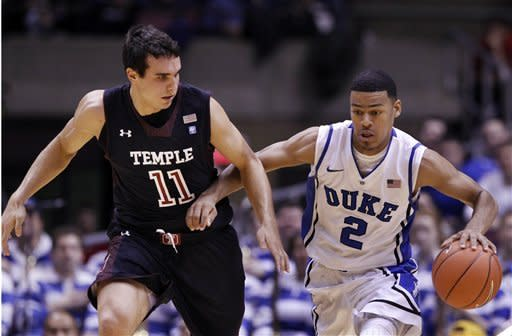 No. 2 Duke beats Temple 90-67