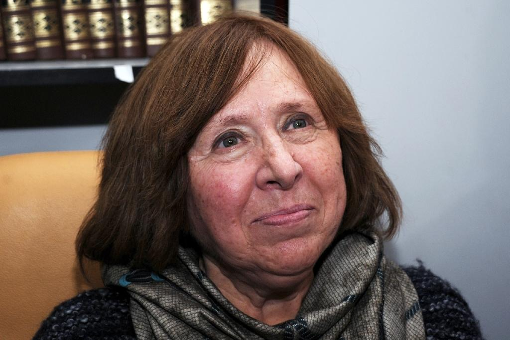 Belarussian dissident Alexievich wins Nobel Literature Prize