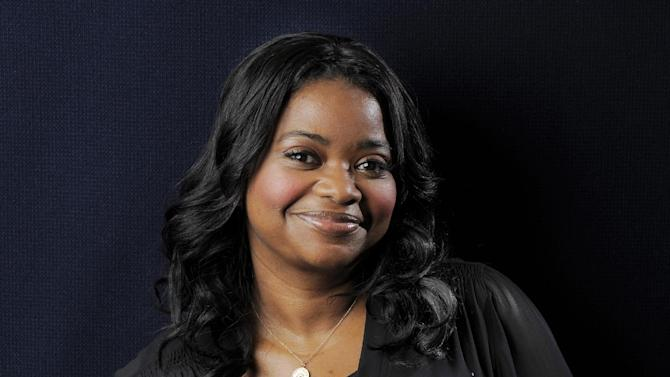 "FILE - This Sept. 12, 2012 file photo shows actress Octavia Spencer, a cast member in the film ""Smashed,"" posing for a portrait at the 2012 Toronto Film Festival in Toronto. has a deal with Simon & Schuster Books for Young Readers for a pair of detective novels for middle school students. Simon & Schuster announced Thursday that the first book, ""Randi Rhodes, Ninja Detective: The Case of the Time-Capsule Bandit,"" will come out next fall. Spencer said in a statement that she had been inspired by such mystery series as Nancy Drew and Encyclopedia Brown and hoped to give kids the same ""sense of magic."" (Photo by Chris Pizzello/Invision/AP, file)"