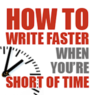 How to Write Faster When You Are Short of Time image how to write faster when short of time