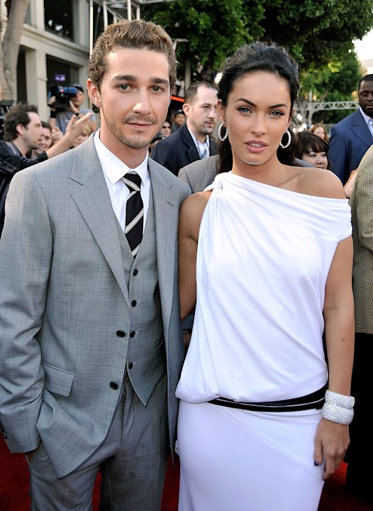 Transformers Revenge of the Fallen LA Premiere 2009 Shia LaBeouf Megan Fox