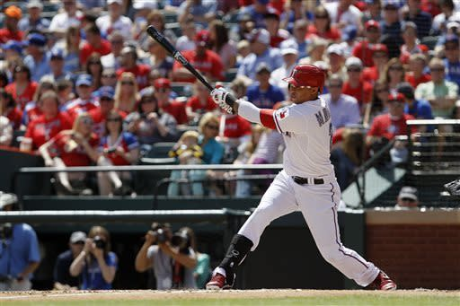 Texas hits 4 homers in 11-3 win to sweep Seattle