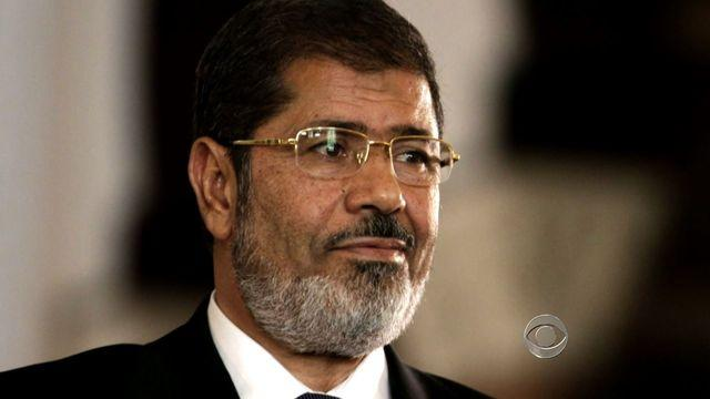 EU's top diplomat meets with Morsi in Egypt