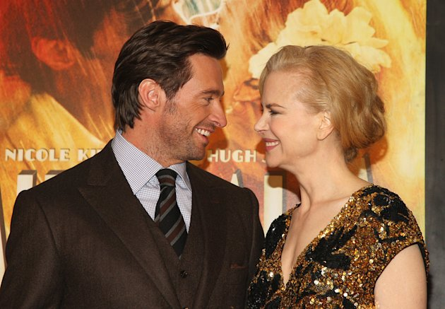 Australia NY Premiere 2008 Hugh Jackman Nicole Kidman