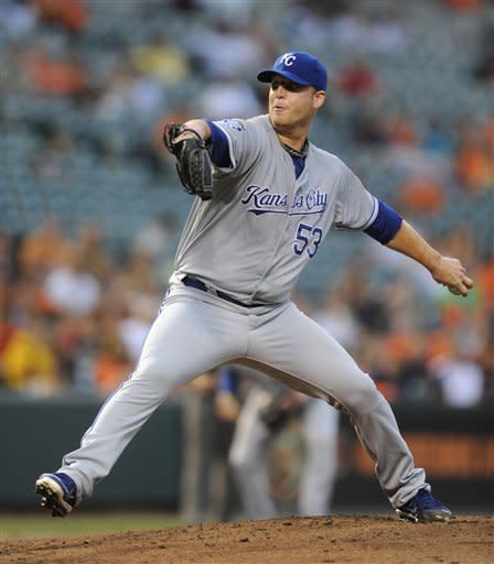 Butler leads Royals over Orioles 8-2