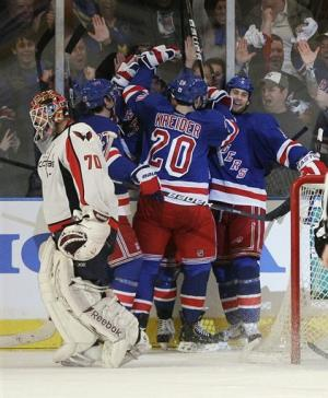 Kreider lifts Rangers to 3-1 win over Capitals
