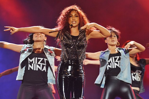 Mizz Nina at MTV World Stage