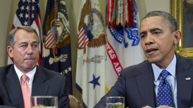 Obama's fiscal cliff strategy is tricky balance
