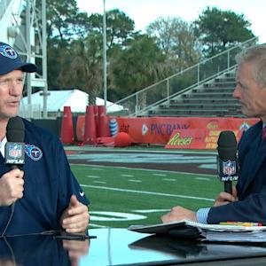 Reese's Senior Bowl: Tennessee Titans head coach Ken Whisenhunt evaluating everything the players do