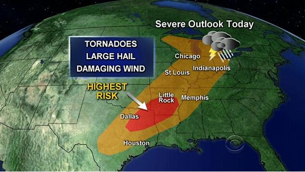 More severe weather expected …