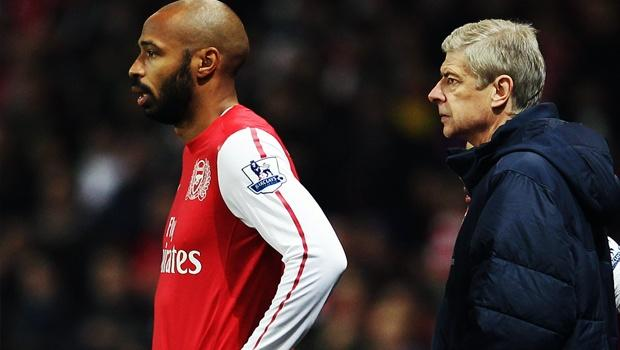 Arsenal not pursuing loan for RBNY's Henry, Wenger says
