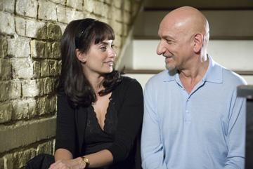 Penelope Cruz and Ben Kingsley in Samuel Goldwyn Films' Elegy