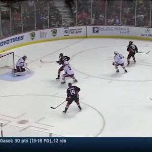 Mike Smith Save on Devante Smith-Pelly (11:42/2nd)