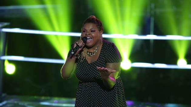 Stephanie Anne Johnson on 'The Voice' -- NBC