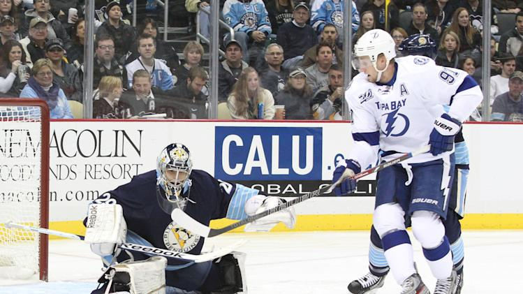 NHL: Tampa Bay Lightning at Pittsburgh Penguins