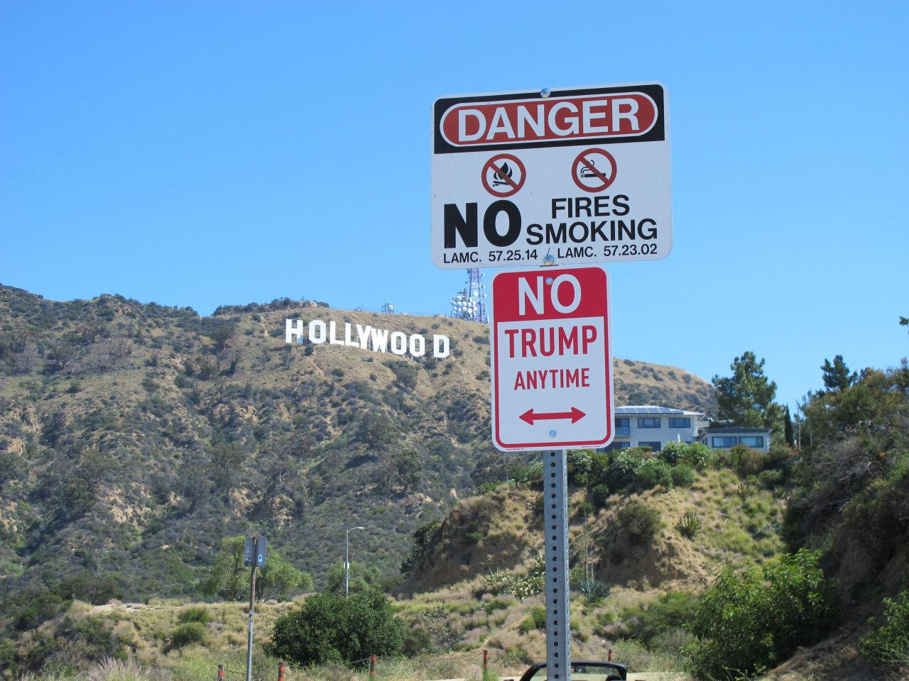 'No Trump Anytime' signs are popping up around the country