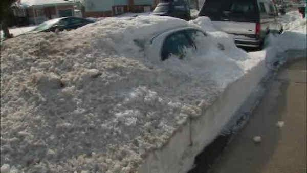Long Island residents ready for more snow