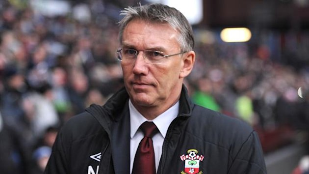 Nigel Adkins at Southampton (Reuters)
