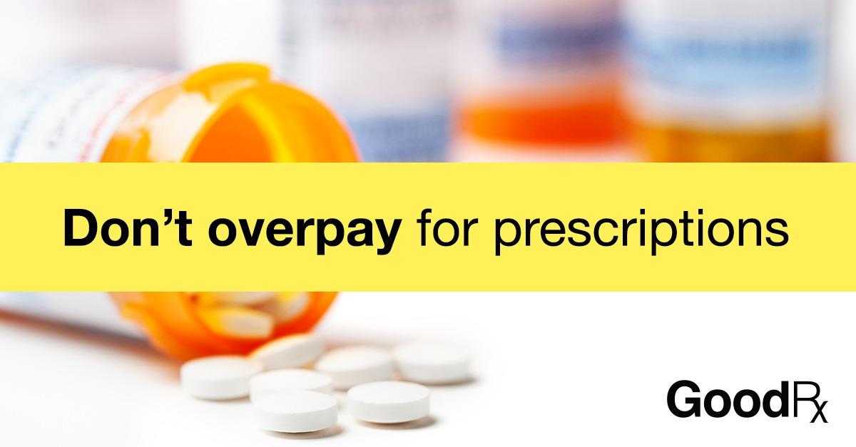 Stop Paying Too Much For Your Prescriptions.