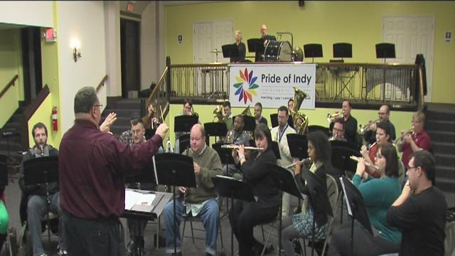 Lesbian, gay band Pride of Indy to march in presidential inauguration parade