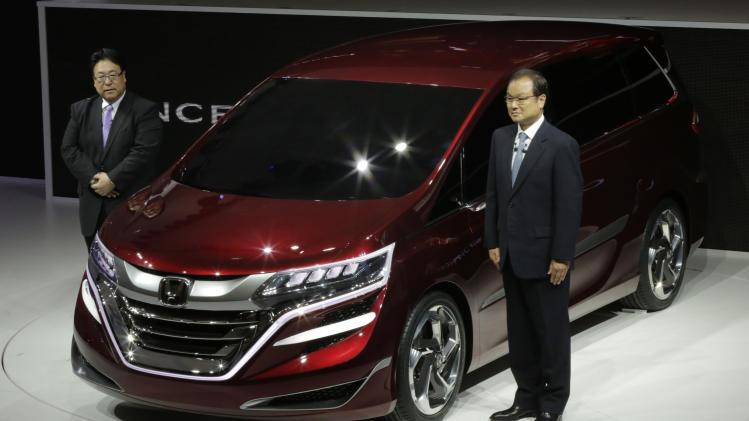 Honda's quarterly profit rises despite China woes