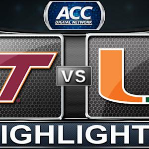 Virginia Tech vs Miami | 2013 ACC Basketball Highlights