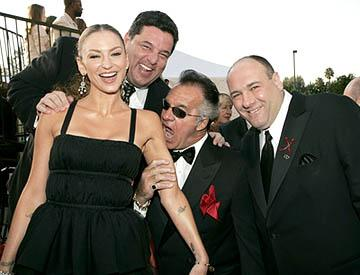 Drea De Matteo, Steven Schirripa, Tony Sirico and James Gandolfini Screen Actors Guild Awards - 2/5/2005