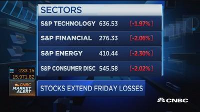 Stocks end off lows as energy stocks eke out gains