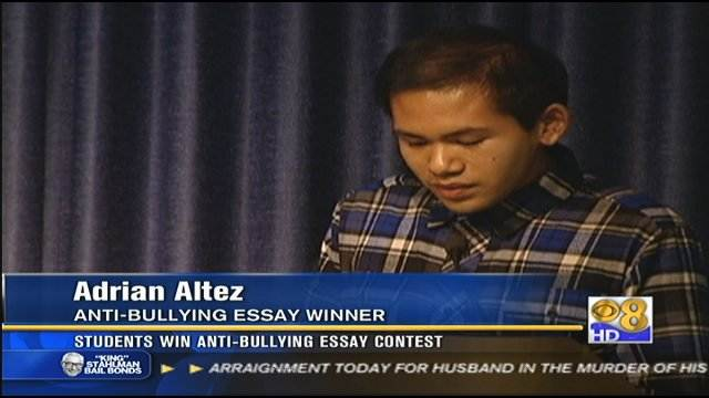 Students win anti-bullying essay contest