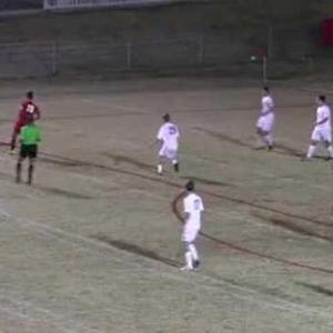 Volleykick vs. Catholic goal from 22 yds out.