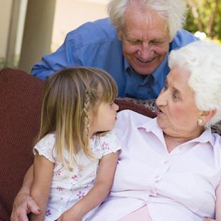 Grandparents offer free childcare this Valentine's Day