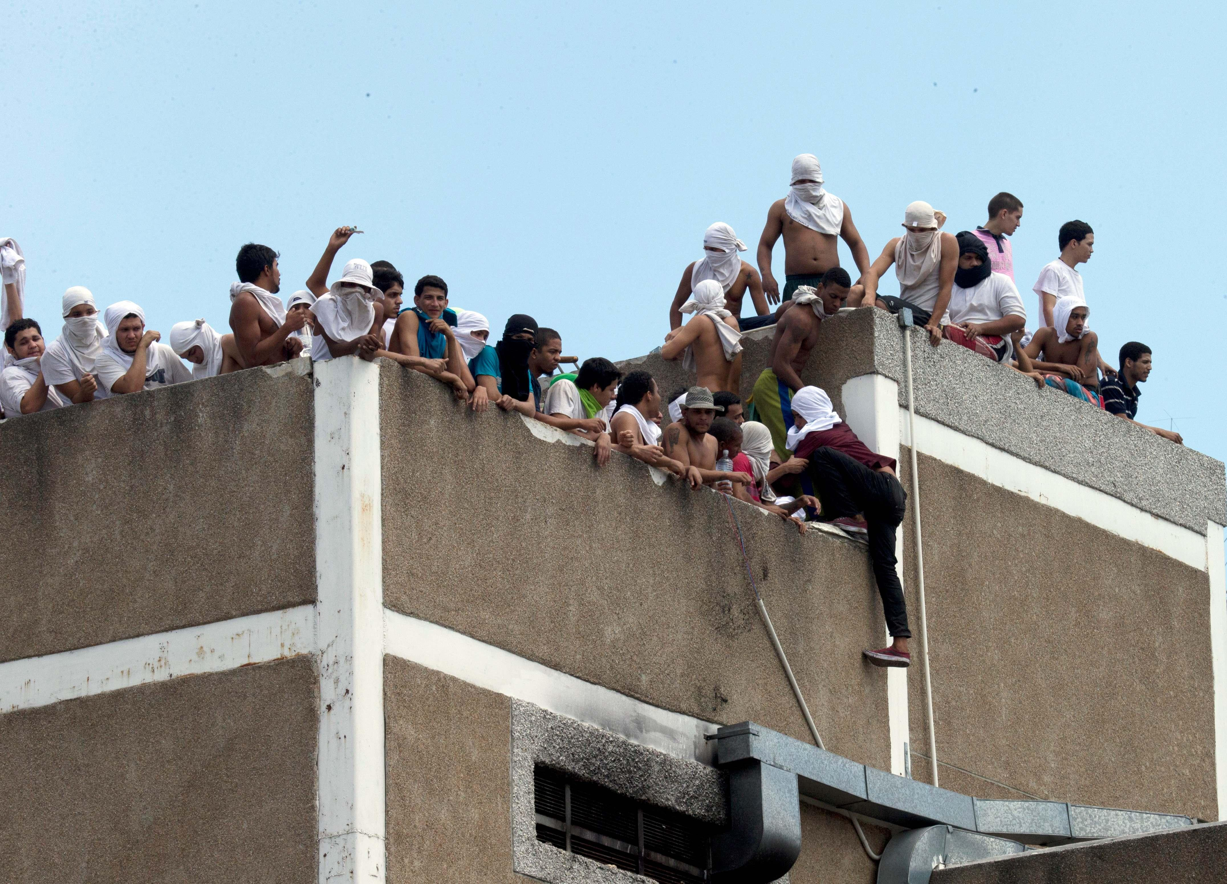Venezuelan prison riot ends at overcrowded facility