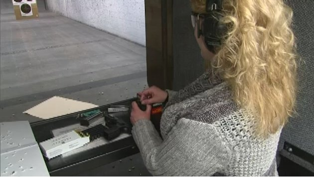 Women and the gun control …
