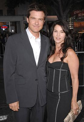 Jason Bateman and wife at the Westwood Premiere of Universal Pictures' The Kingdom