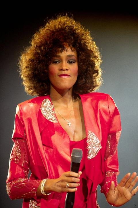 ***File Photo**** WHITNEY HOUSTON DEAD AT 48WHITNEY HOUSTON has died at the age of 48.  The How Will I Know singer was working on a major chart and film comeback after years of drug issues when she pa