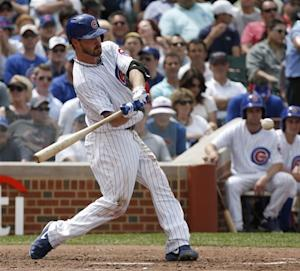 Pitcher Wood hits grand slam in Cubs' 8-3 win