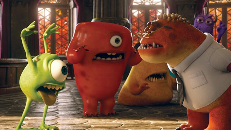 'Monsters' beats zombies, Superman at box office