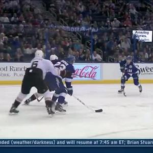 Valtteri Filppula snaps one top-shelf
