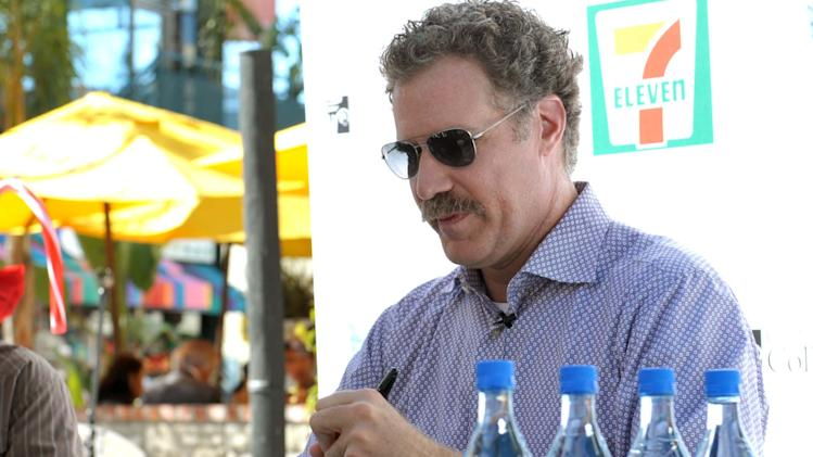 IMAGE DISTRIBUTED FOR 7-ELEVEN - Will Ferrell attends the launch of 7-Eleven's Holiday Cup designed Will Ferrell at The Grove, on Tuesday, Nov. 13, 2012 in Los Angeles. (Photo by John Shearer/Invision for 7-Eleven/AP Images)