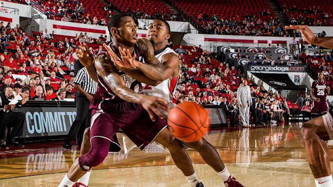 NCAA Basketball: Mississippi State at Georgia