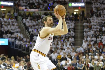 Cavaliers reportedly have 'legitimate fear' that Kevin Love leaves as free agent