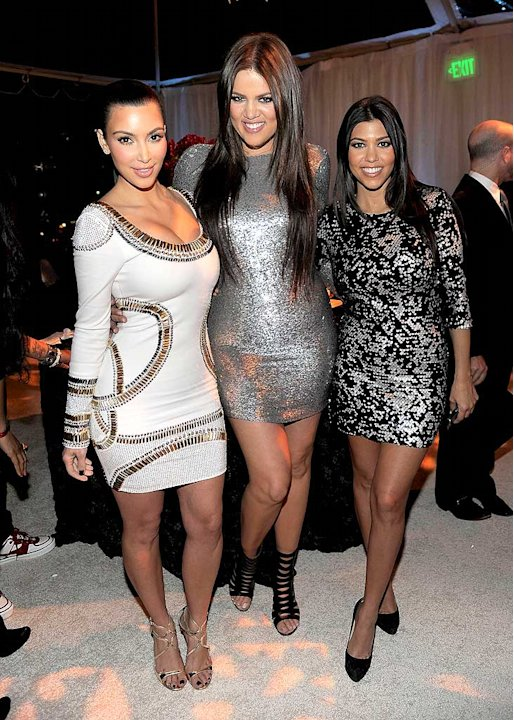 Kardashian Kim Khloe Kourtney E Annvsry