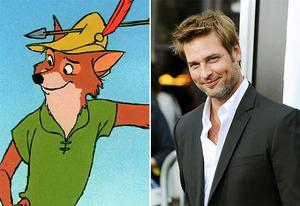 Robin Hood, Josh Holloway | Photo Credits: Walt Disney Pictures, Frazer Harrison/Getty Images