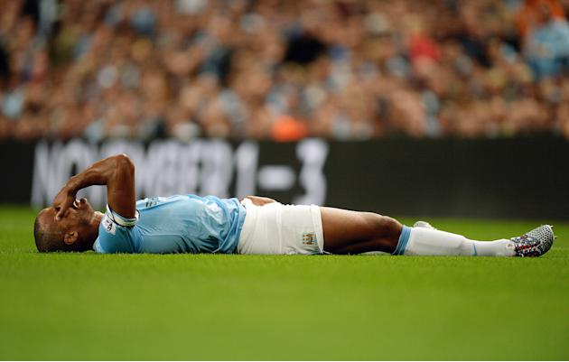 Soccer - Vincent Kompany File Photo