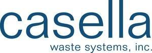 Casella Waste Systems, Inc. Announces Business Finance Authority of the State of New Hampshire Solid Waste Disposal Revenue Bond Offering