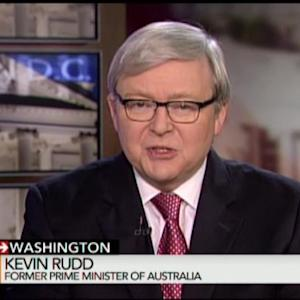 U.S., China Deeply Realist on Security Policy: Kevin Rudd