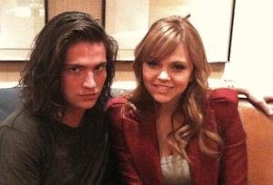 "Thomas McDonell and Aimee Teegarden in Disney Films ""Prom"""