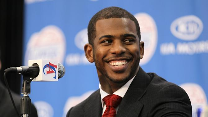 Los Angeles Clippers Introduce Chris Paul