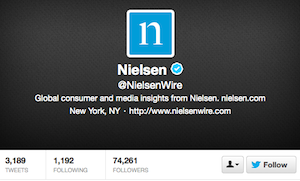 Nielsen, Twitter Join Forces to Launch Social TV Metric