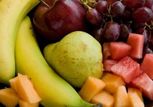 Diabetics can choose from a wide variety of fresh fruits.